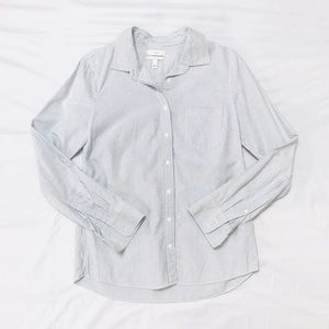 J crew Button Down boy Shirt (Size 6)